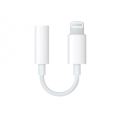 Адаптер Apple lightning/3.5 mm jack